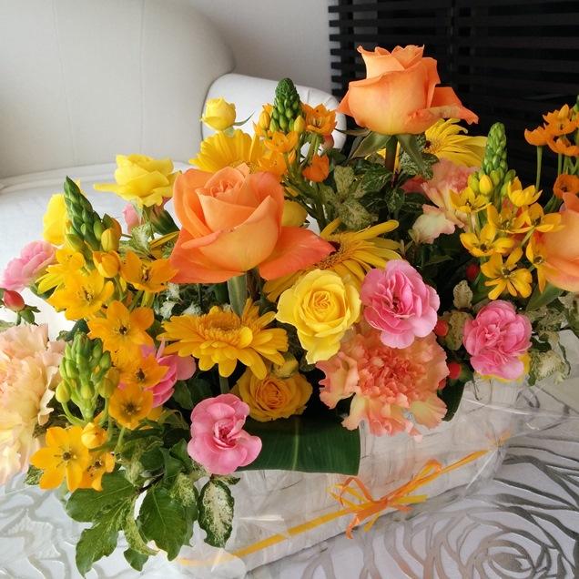 癒しのコルギサロン51Soleil_お花