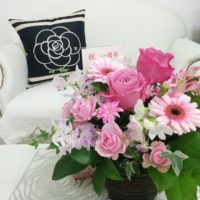 癒しのコルギサロン_1周年お花