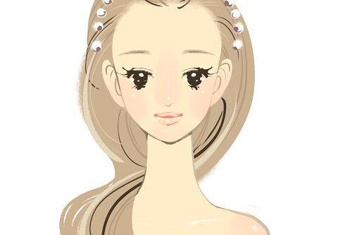 癒しのコルギサロン_綺麗な女性イラスト