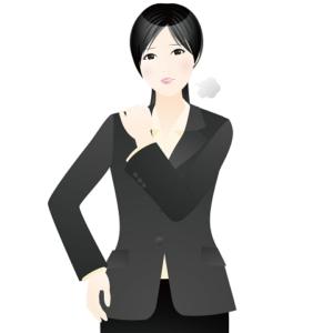 癒しのコルギサロン_疲労女性イラスト