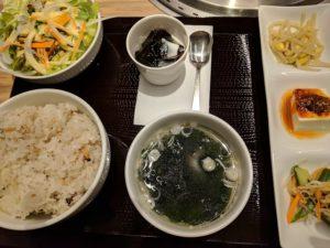 癒しのコルギサロン_焼肉ランチ2
